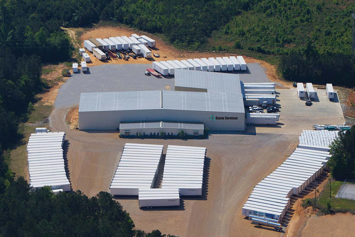 Storm Services facilities in York, Ala.